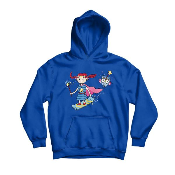 LIKI Kinder Kapuzenpullover [Royal Blue]